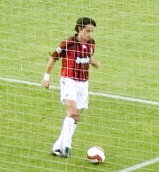 Inzaghi at AC Milan.