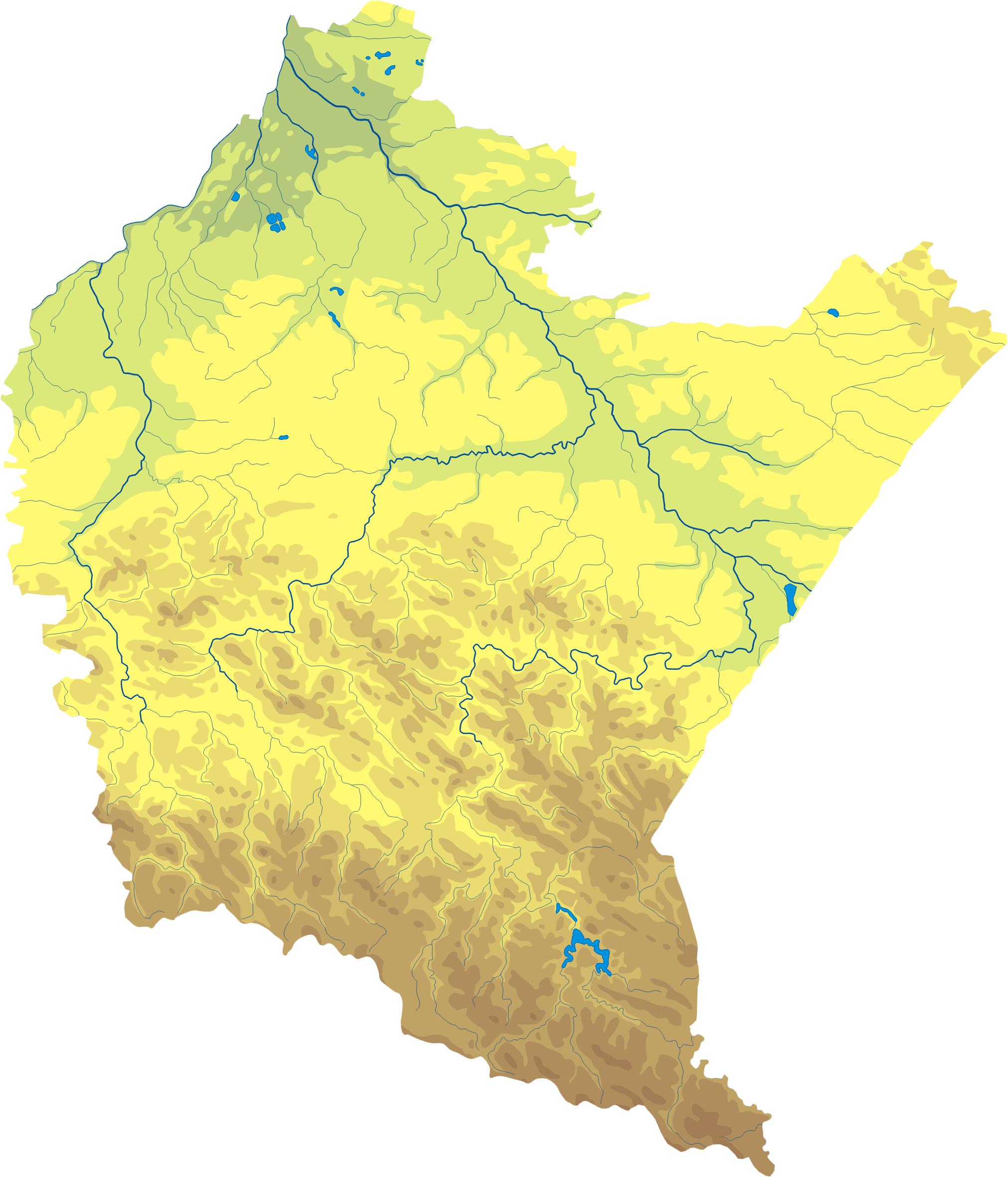 Файл:Podkarpackie mapa fizyczna.png