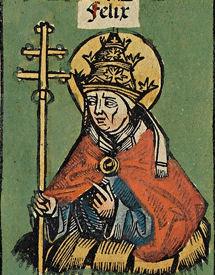 Pope Felix III pope (483-492)