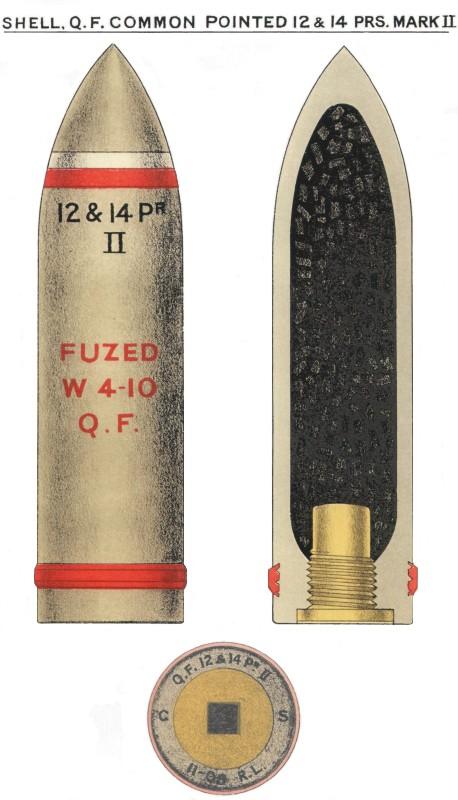 qf 12 pounder 12 cwt naval gun