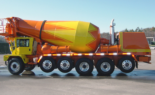 Ready Mix Concrete Trucks : Industrial history concrete industry