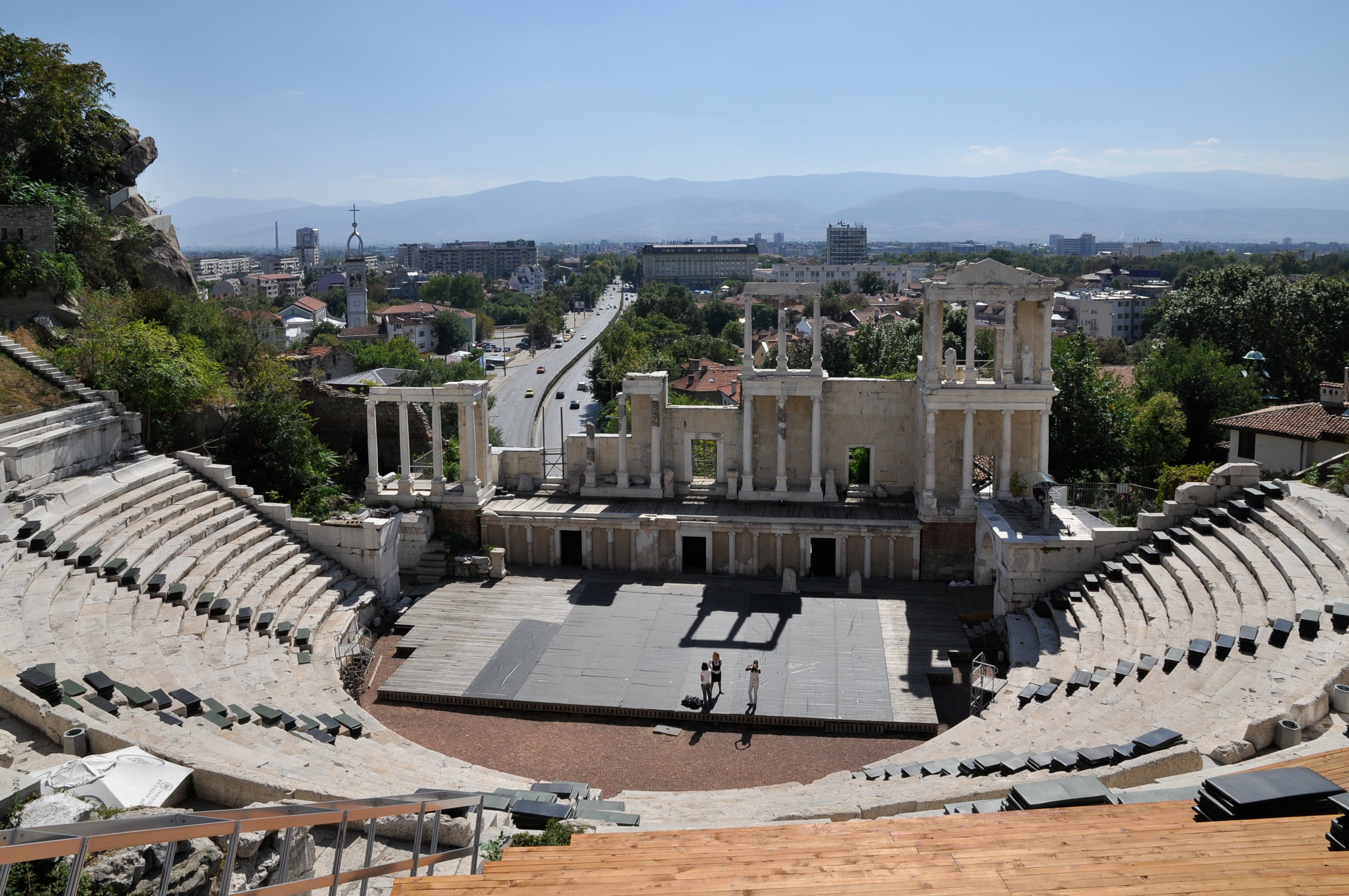 Plovdiv Bulgaria Ancient Theater