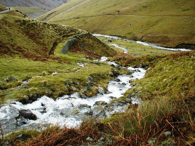 Rowten Beck and Leat - geograph.org.uk - 303056