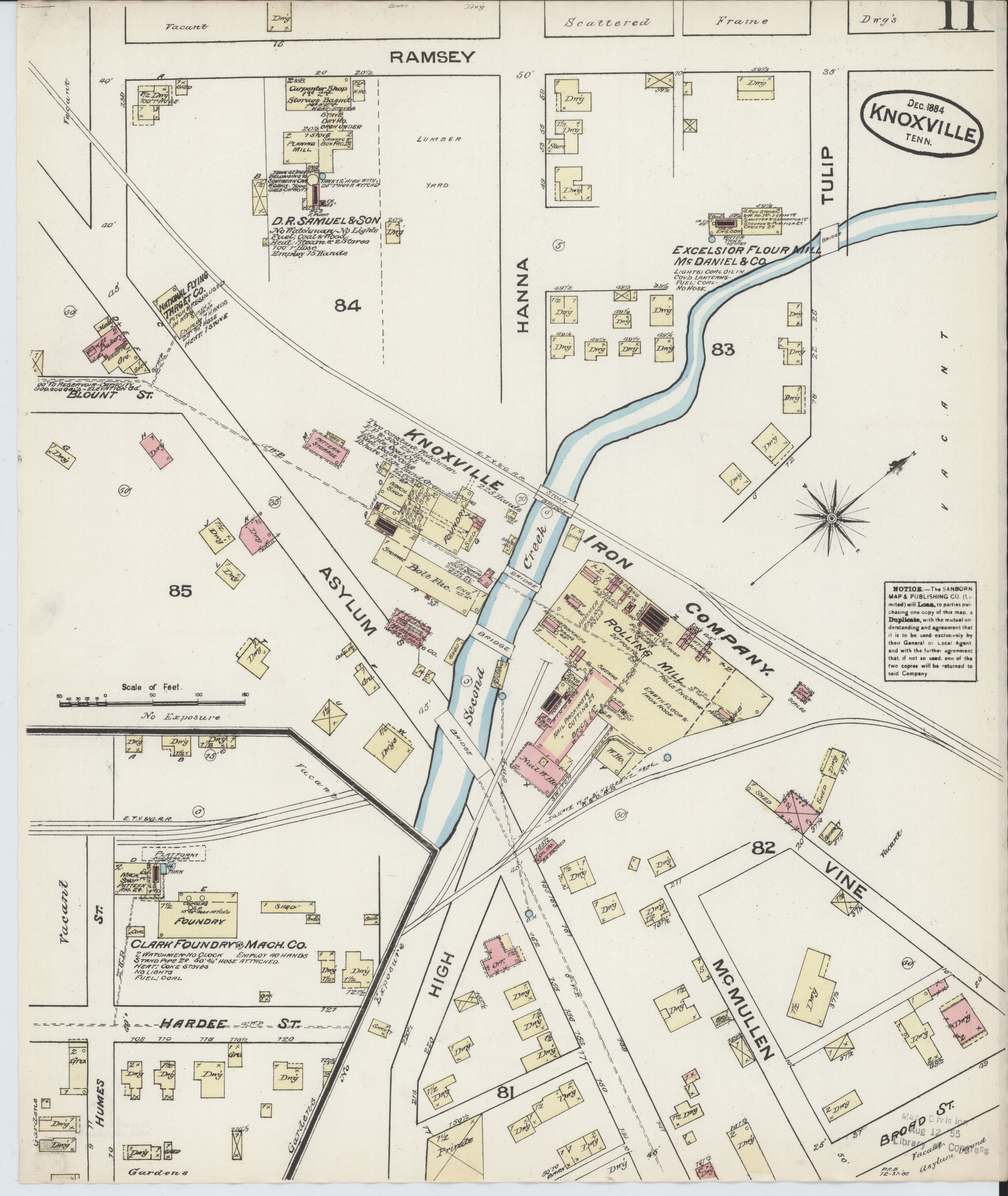 Knox County Tennessee Map.File Sanborn Fire Insurance Map From Knoxville Knox County