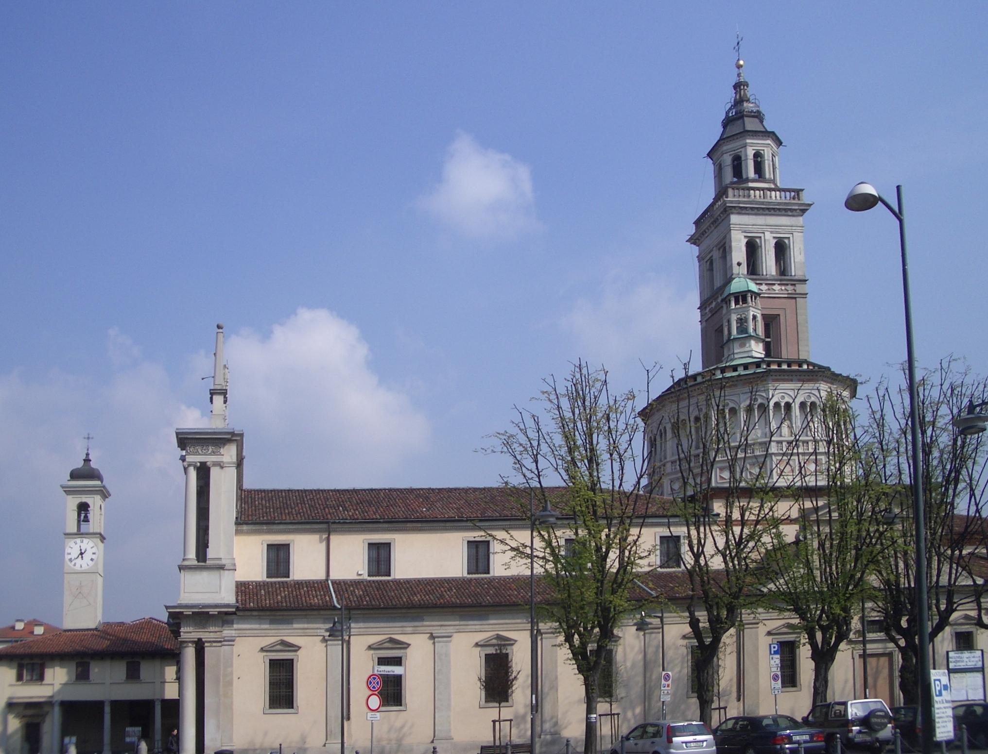 Saronno Italy  City pictures : Santuario Saronno 01 Wikimedia Commons