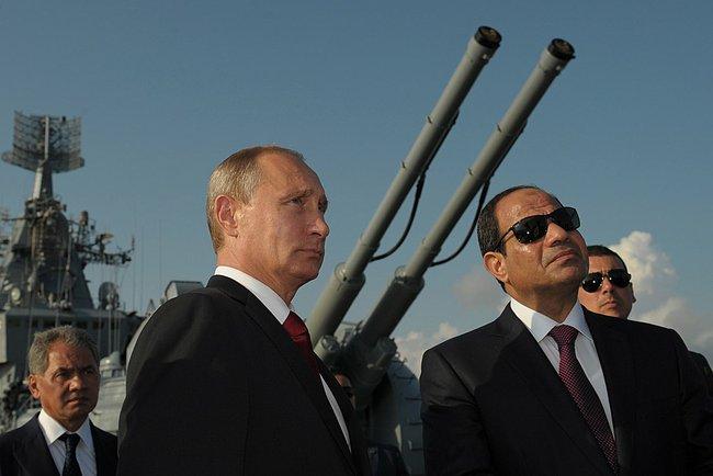 Moscou negocia com o Cairo antigas instalações militares na cidade de Sidi Barrani