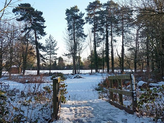 House Snow Scenes File:snow Scene at Tredegar