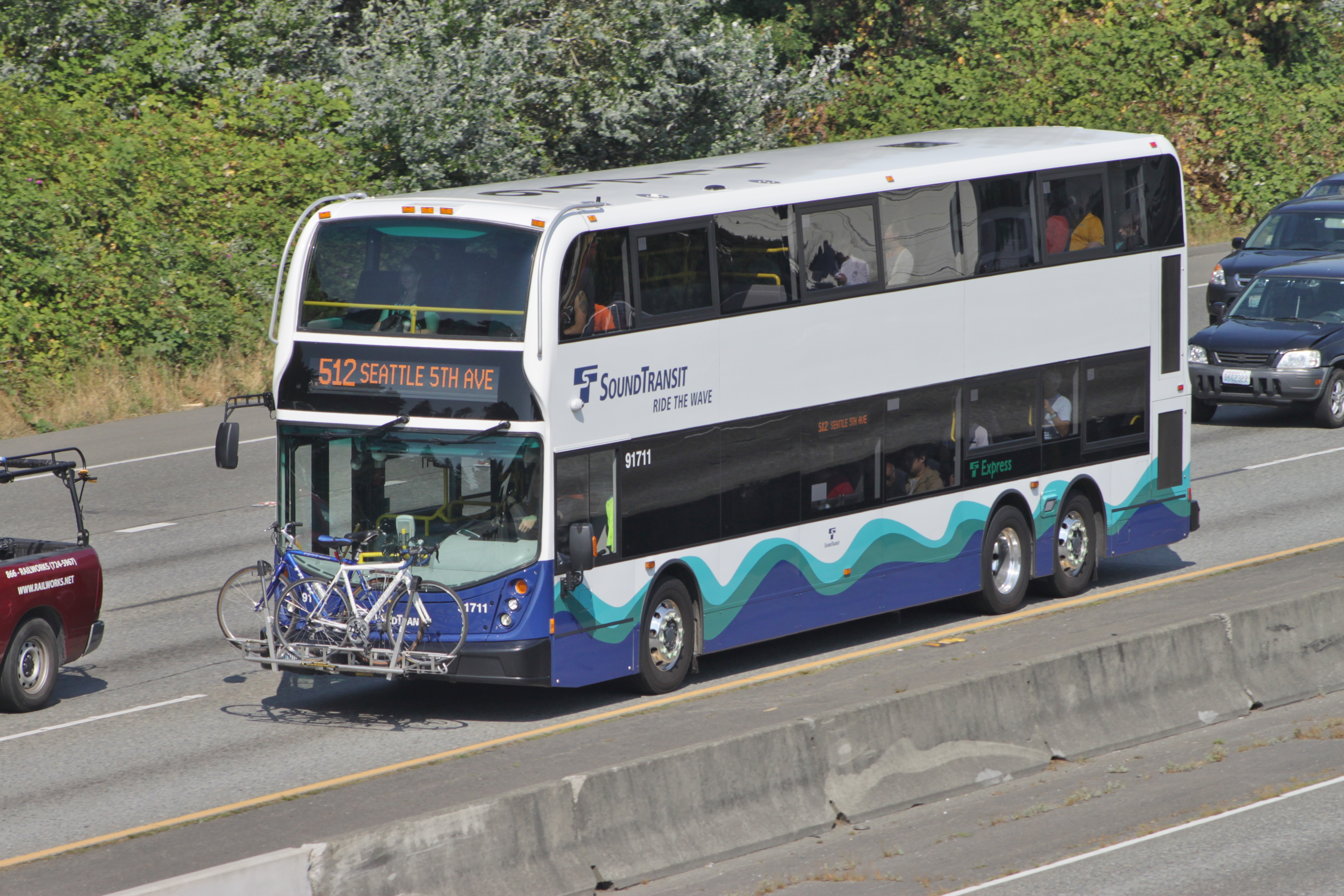 File:Sound Transit double-decker bus 91711 on route 512