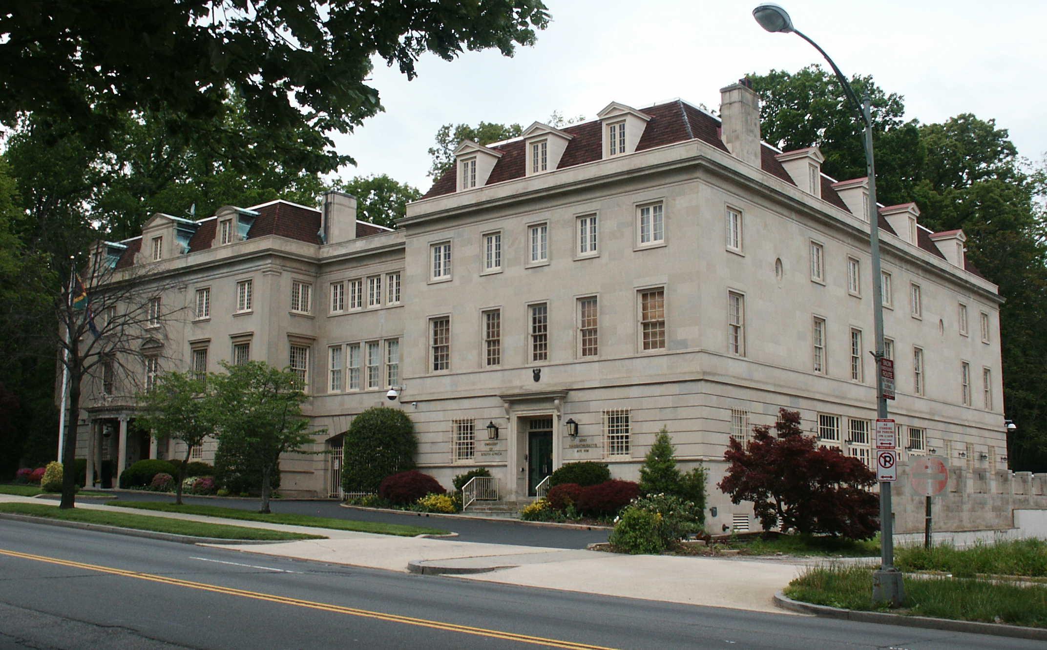washington dc foreign embassy women