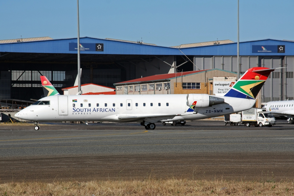File South African Express Canadair Crj 200 Regional Jet
