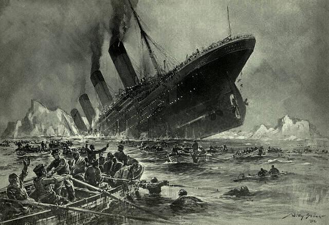 Une montre retrouvée après le drame du Titanic Stöwer_Titanic