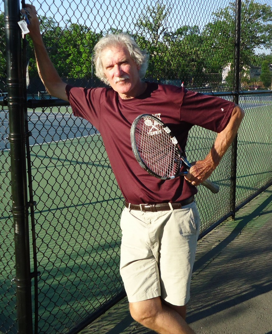 File:Tennis coach and social studies instructor Peter Tierney at ...