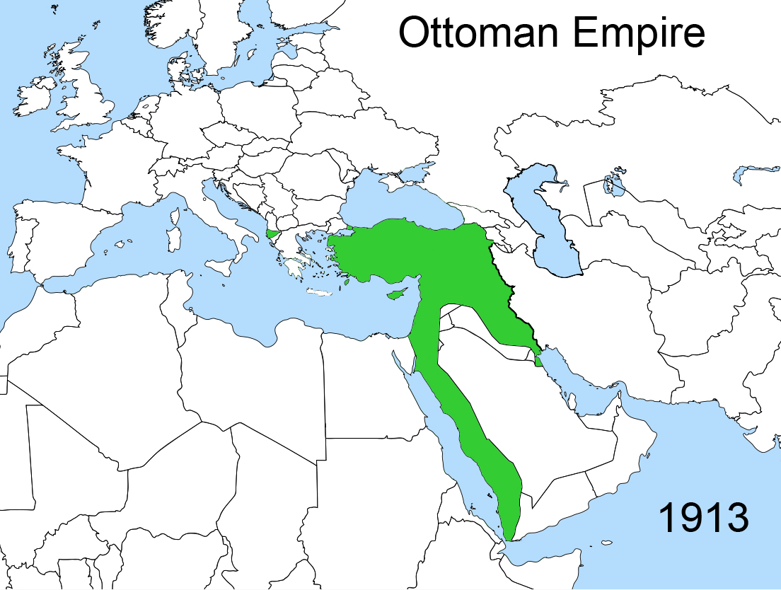 Beskrivelse Territorial changes of the Ottoman Empire 1913 jpgOttoman Empire 1913