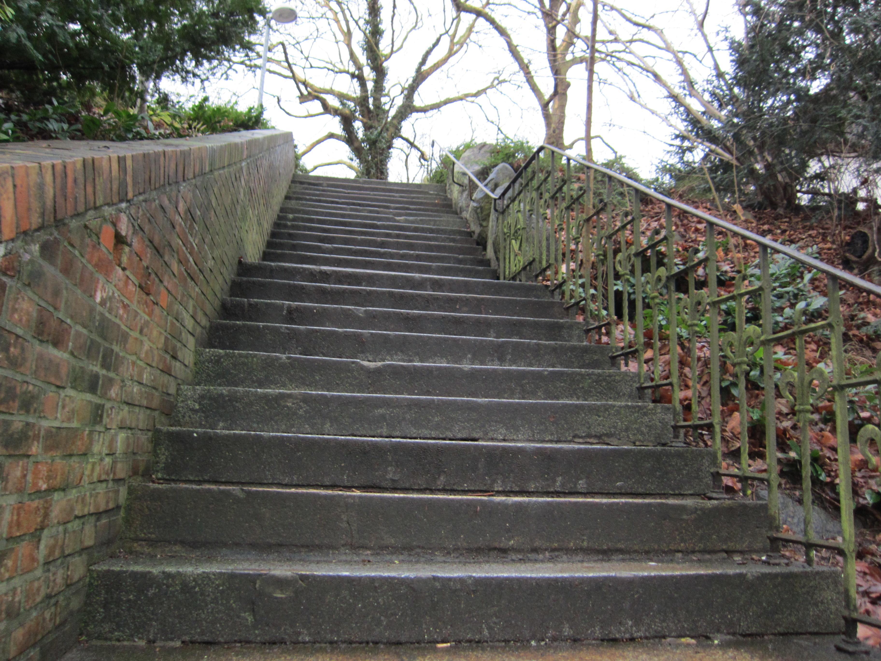Treppen Kiel file treppe in kiel düsternbrook jpg wikimedia commons