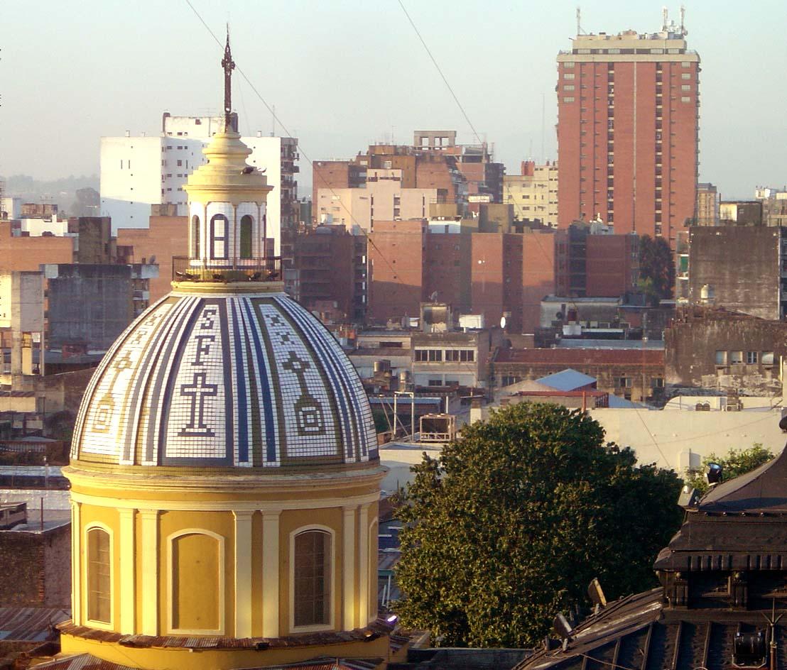 Beautiful City Church Of San Francisco #1: Tucuman_sfrancisco_barrio_norte.jpg