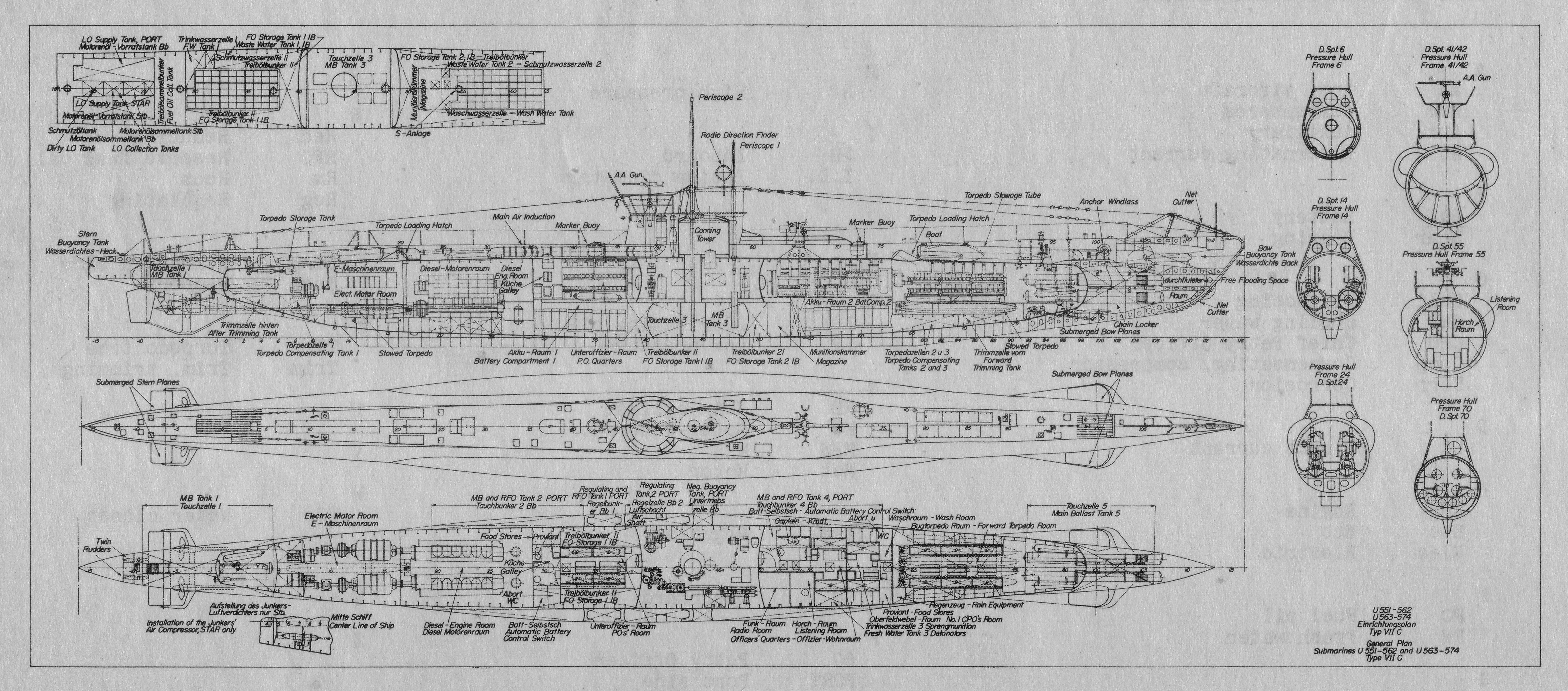 file:type viic u-boat schematic drawing jpg