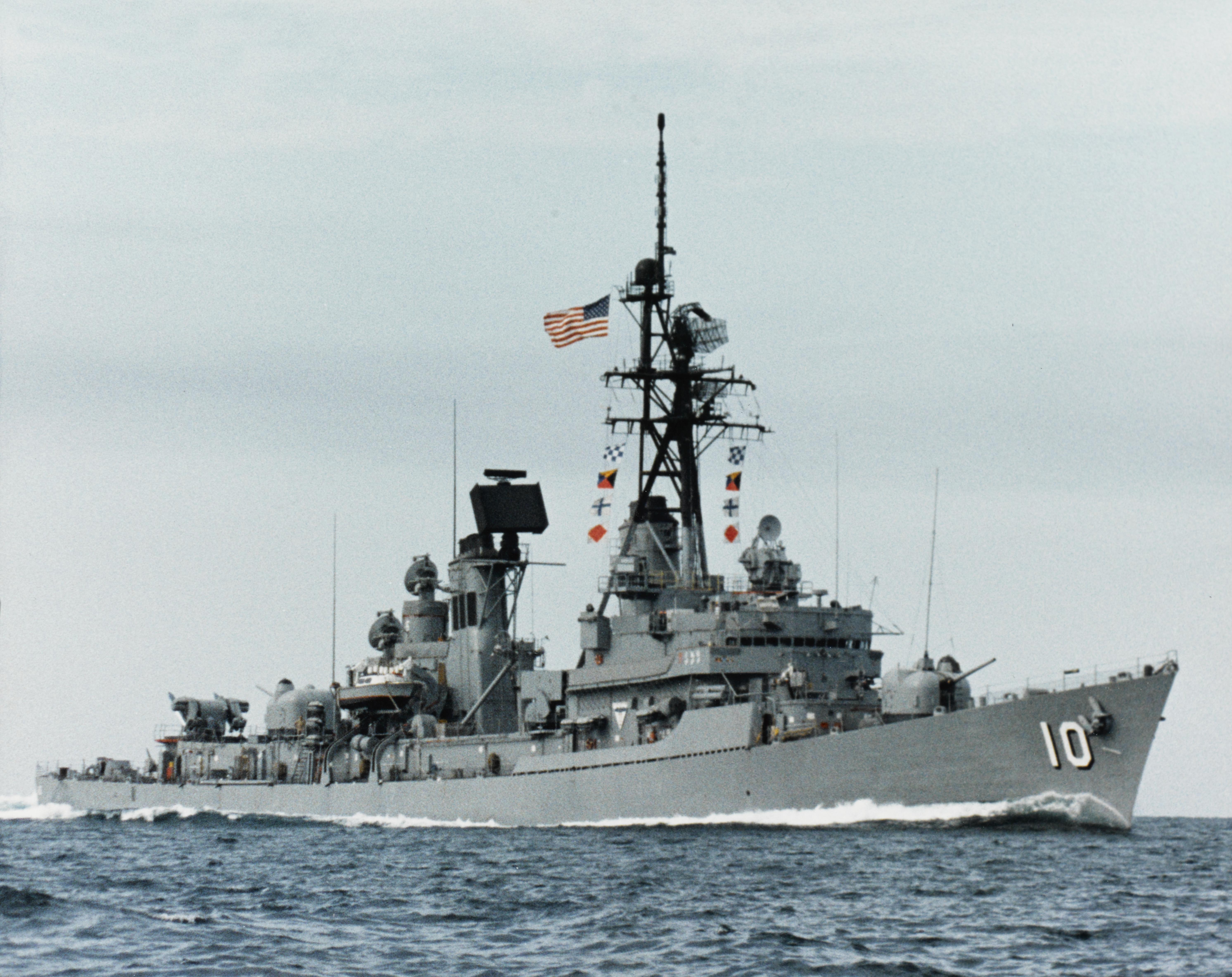 USS BERKELEY DDG 15 Guided Missile Destroyer,US Naval Ship,USN Navy Photo Print