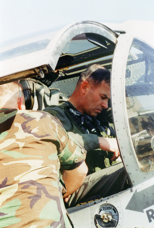 US Army OV-1D Mohawk taken for last flight 1