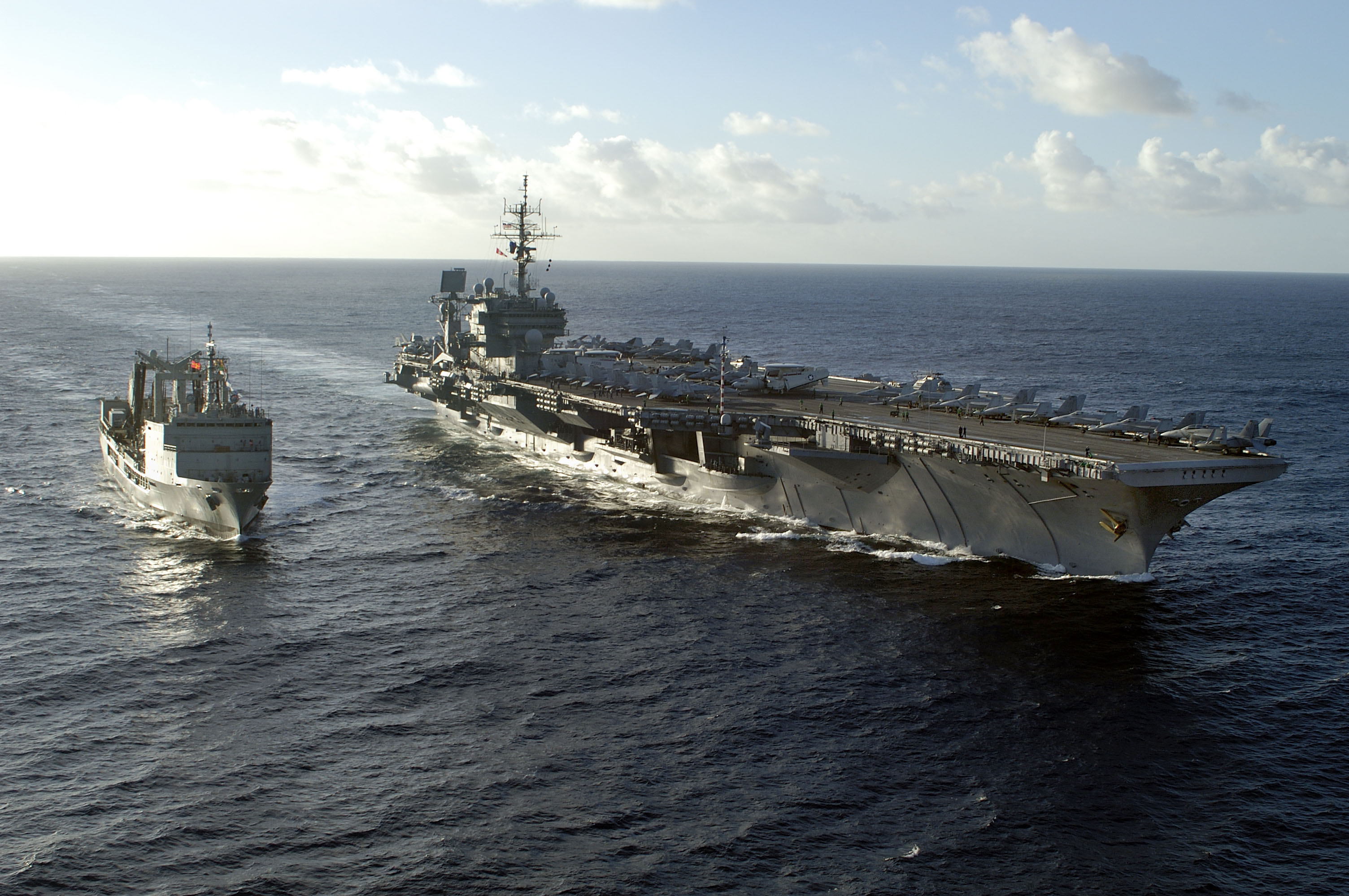 Auxiliary ships of the...