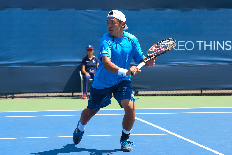 File:US Open Tennis - Qualies - Aslan Karatsev (RUS) def. Tatsuma Ito (JPN)  (4) (20265640694).jpg - Wikimedia Commons