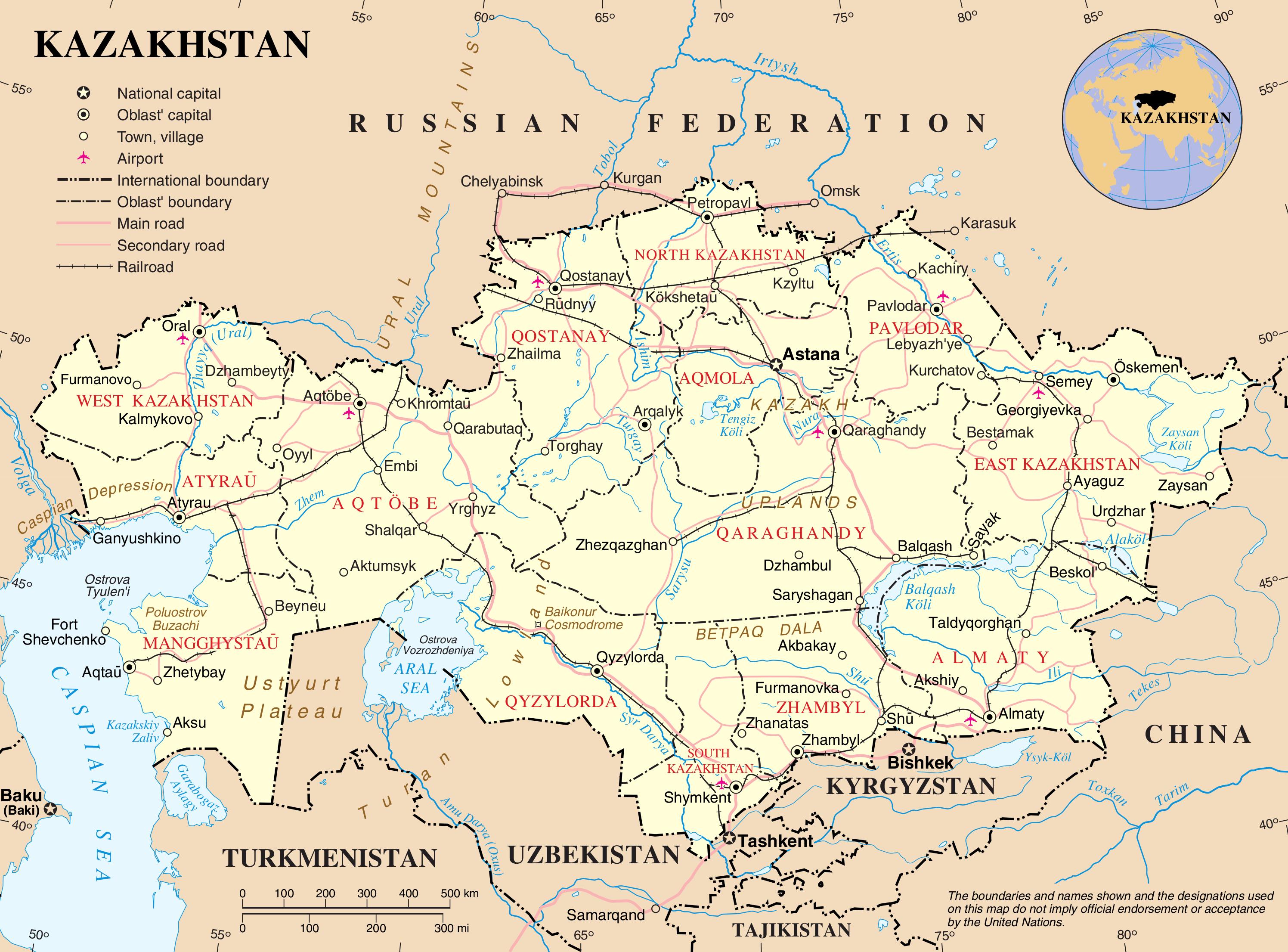 History About Kazakhstan