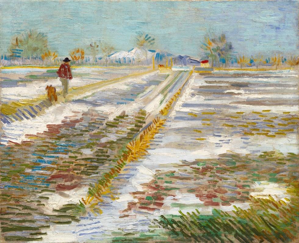Landscape with snow wikipedia - Analyse du tableau la chambre de van gogh ...