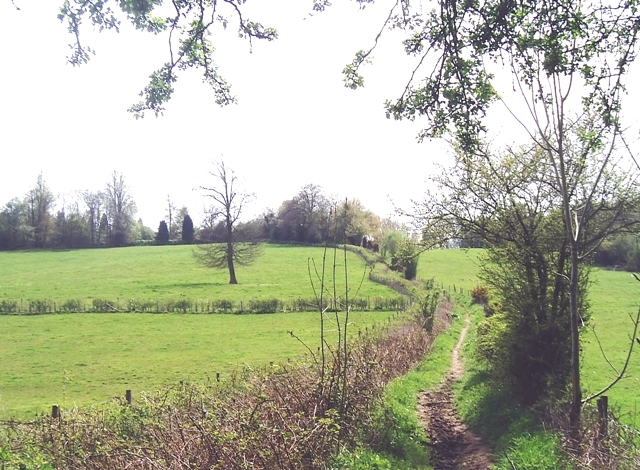 Vanguard Way footpath - geograph.org.uk - 788360