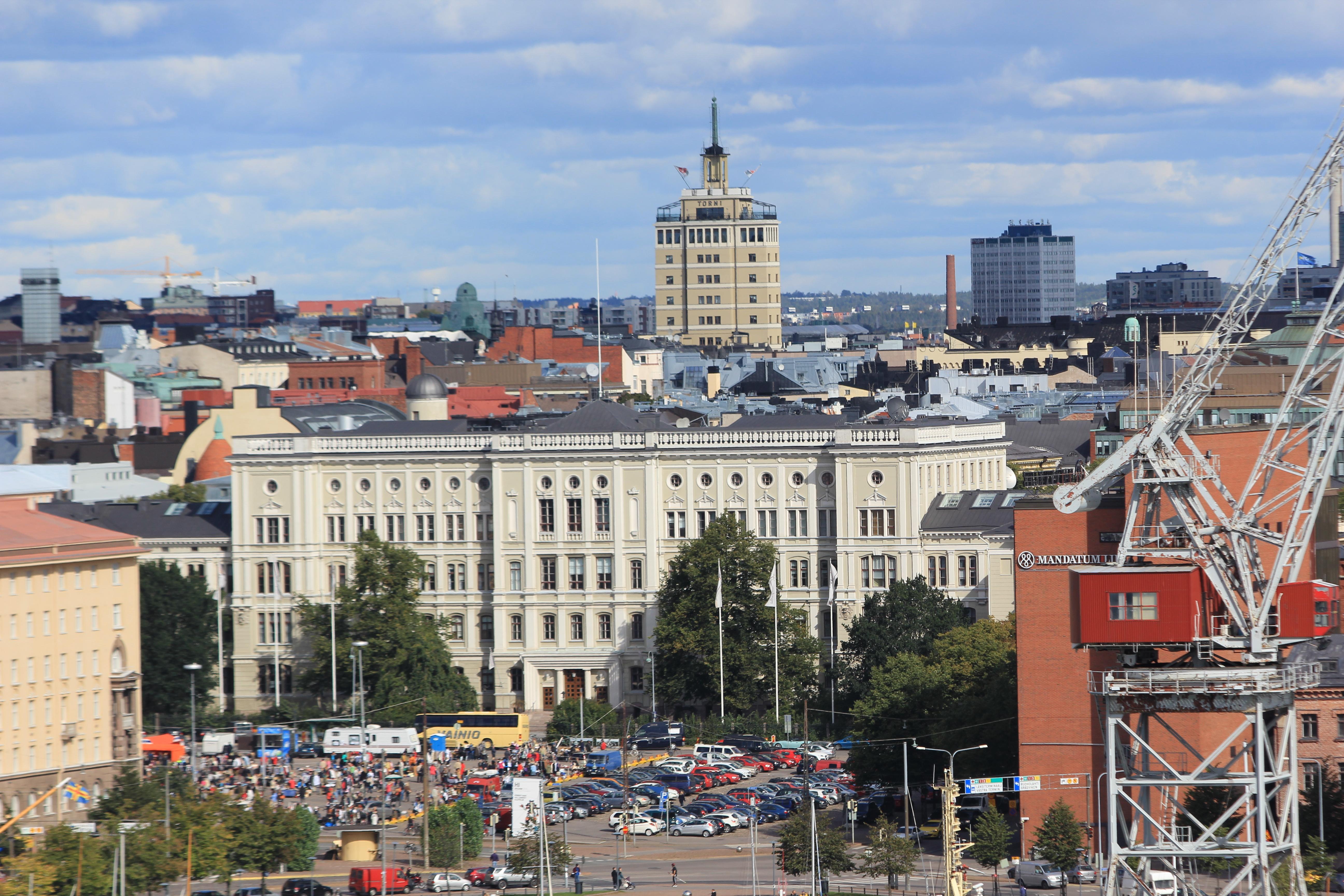 File Vanha Teknillisen Korkeakoulun P Rakennus Ja Hotelli
