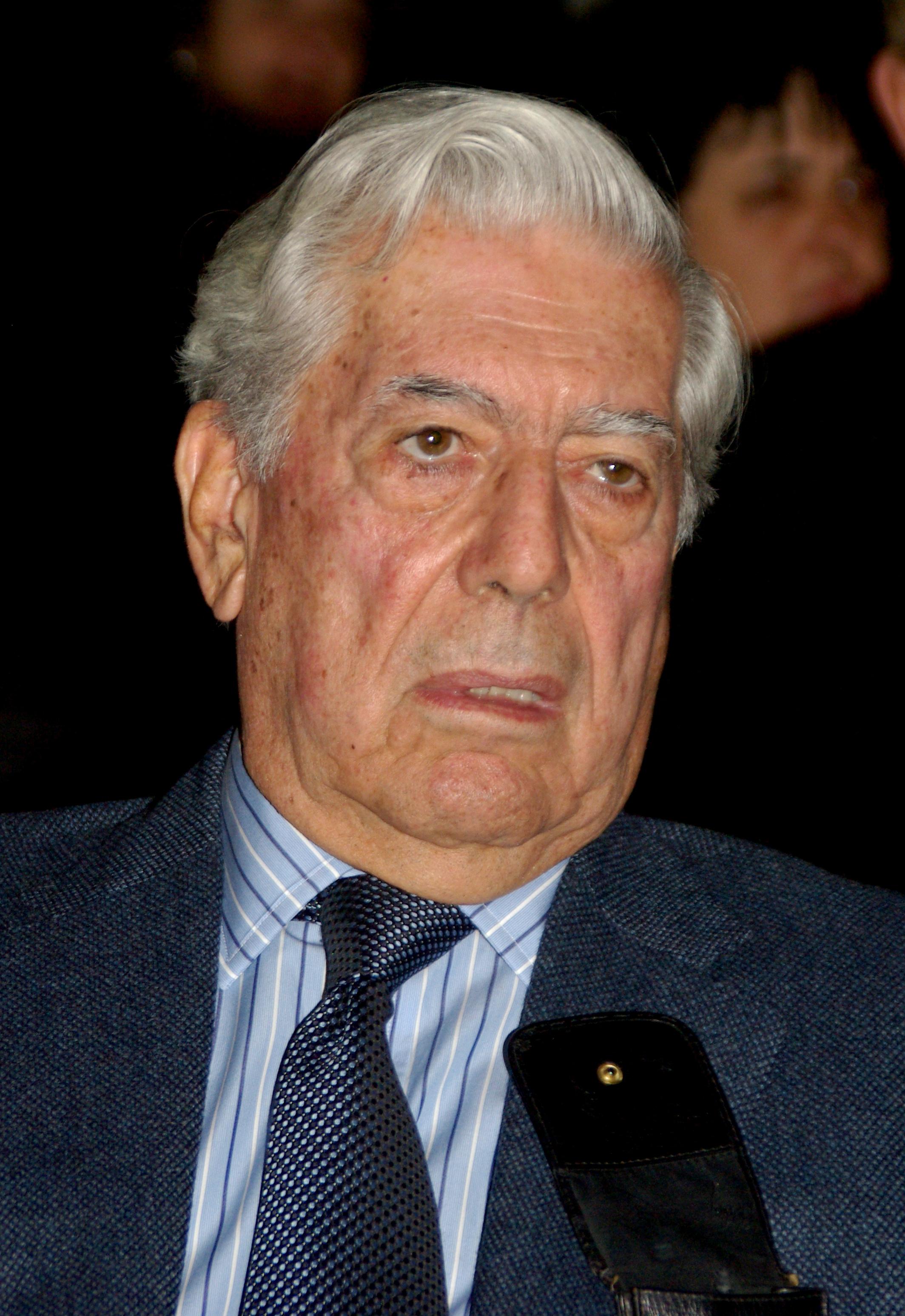 Mario Vargas Llosa in Madrid, 2012