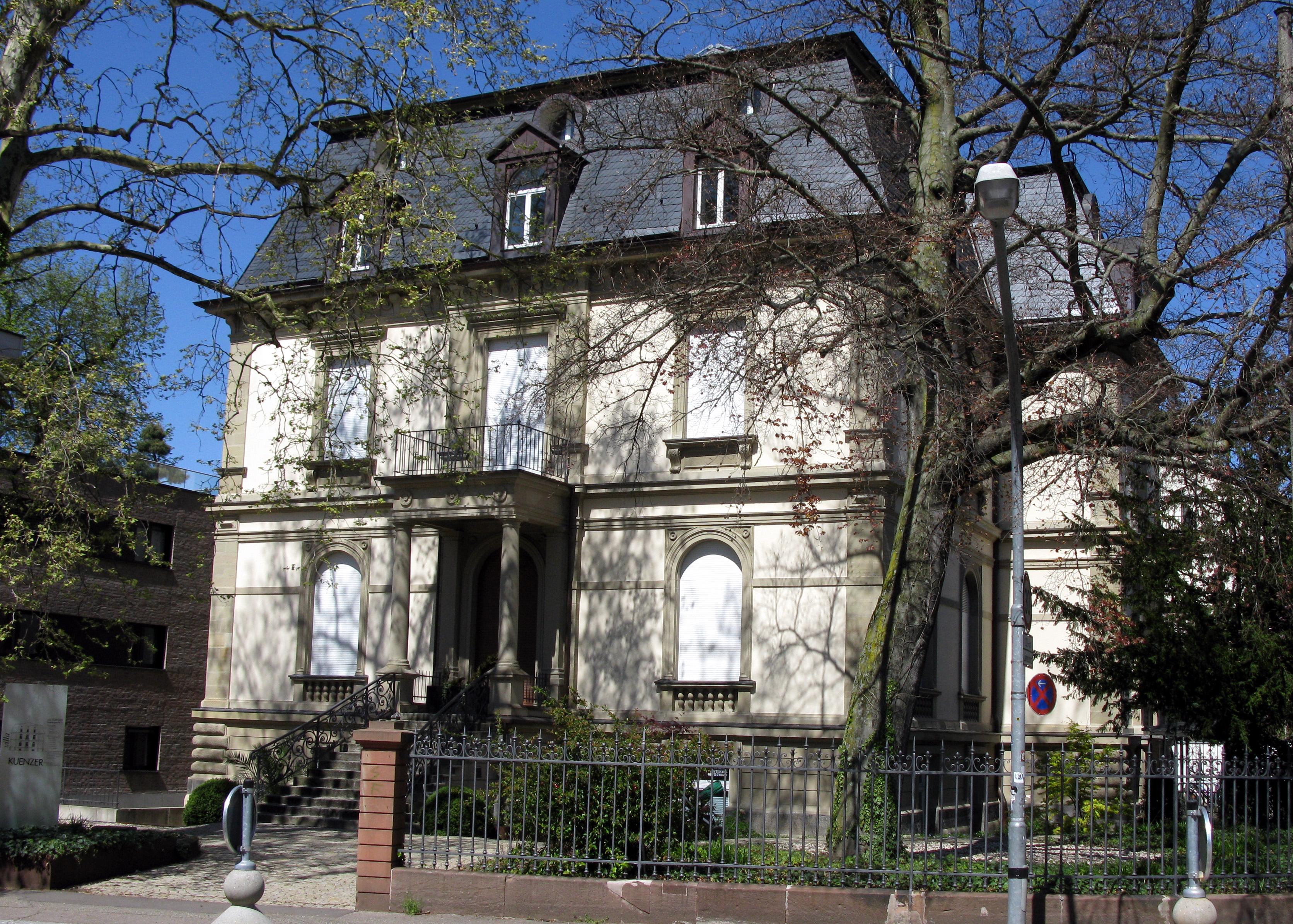 Freiburg Villa file villa kuenzer in freiburg wiehre jpg wikimedia commons