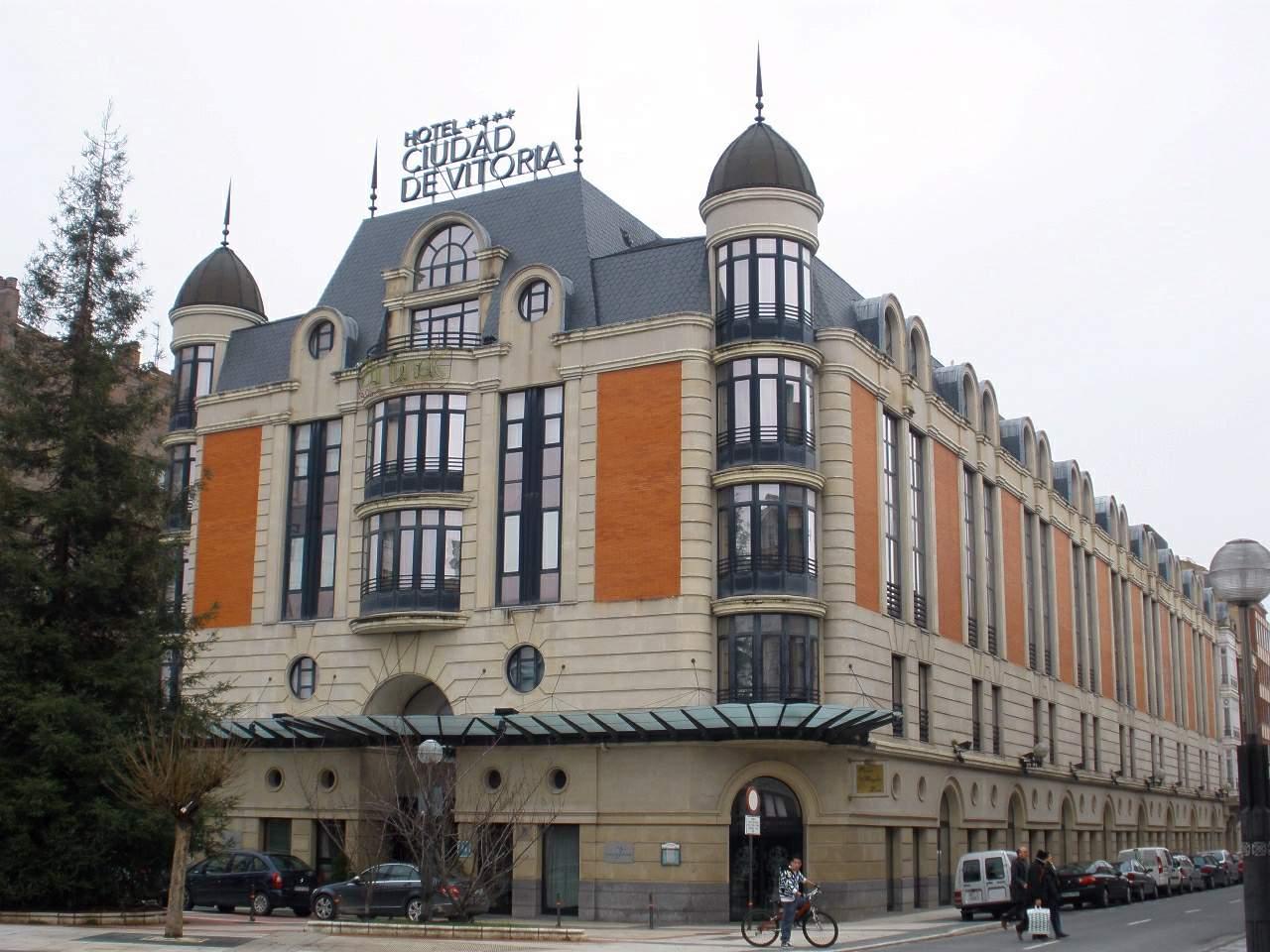 hotel silken ciudad vitoria: