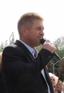 Vyacheslav Ponomarev (public figure) self-proclaimed mayor of the city of Sloviansk in Eastern Ukraine