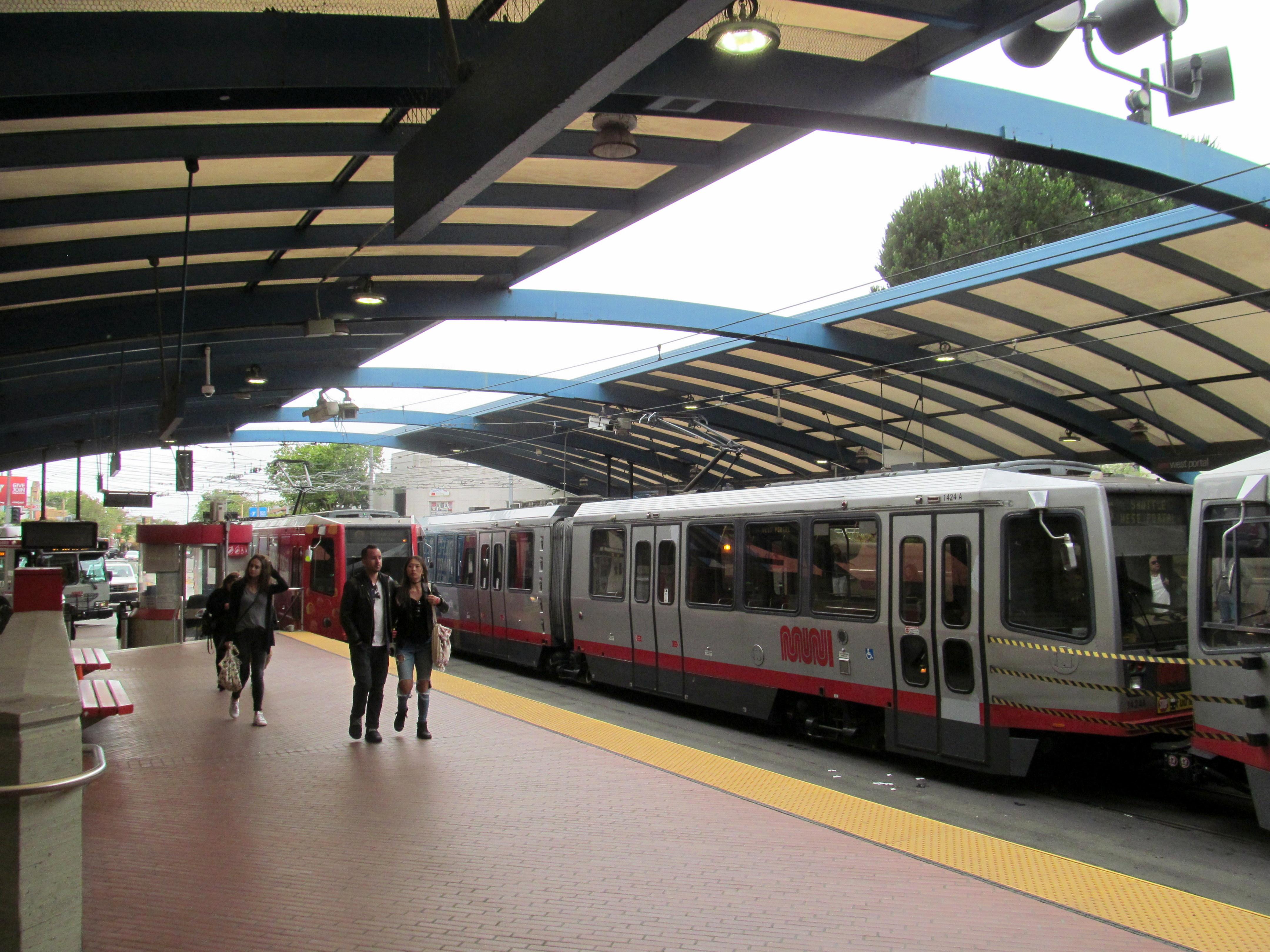 File west portal station with trains june 2017 jpg for N portal