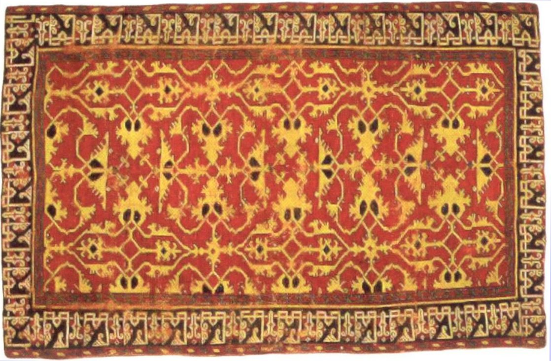File:Western Anatolian knotted woll carpet with 'Lotto ...
