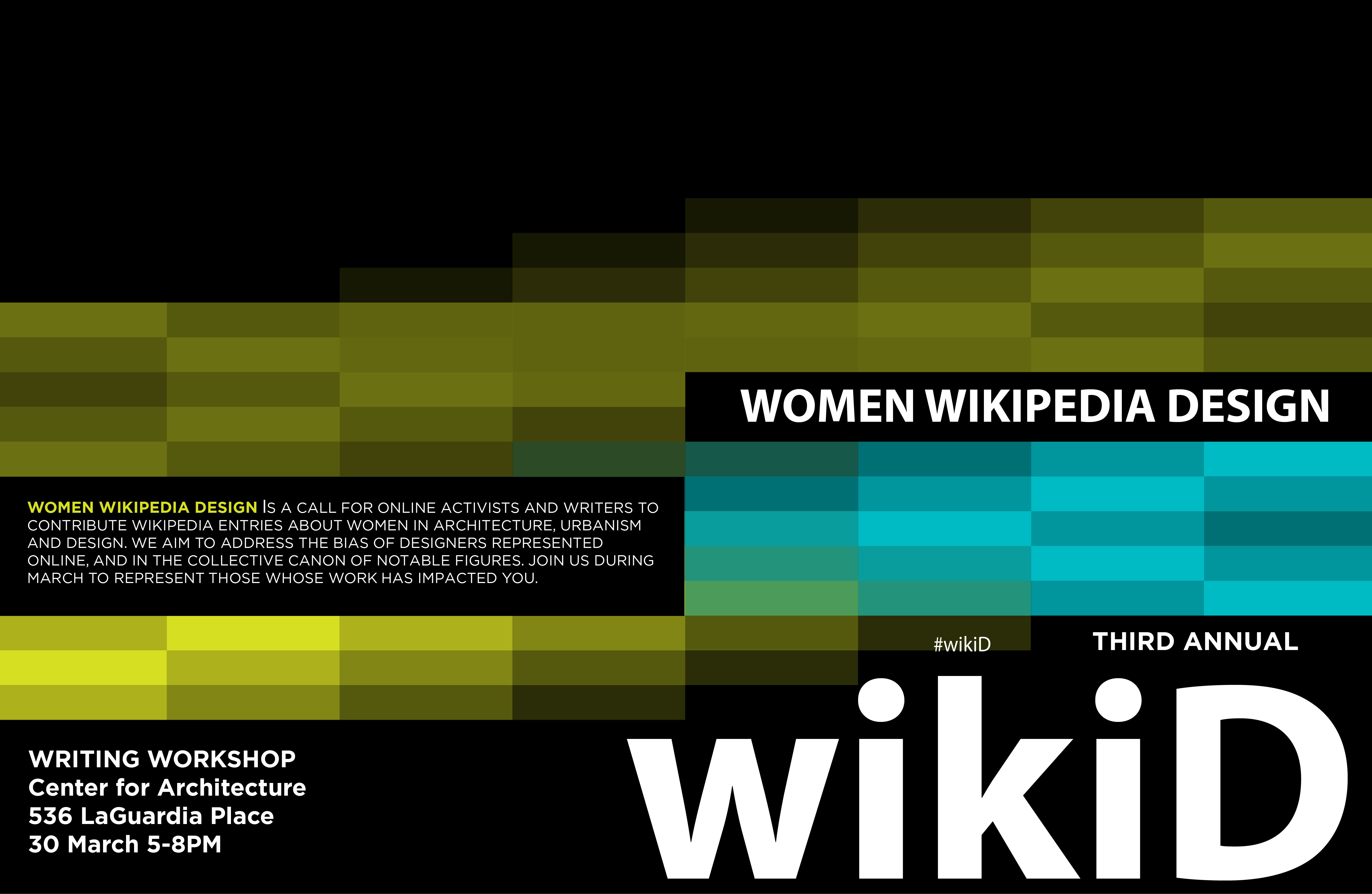 Poster design wikipedia - File Wikipedia Women Design March 2017 Poster For Nyc Jpg