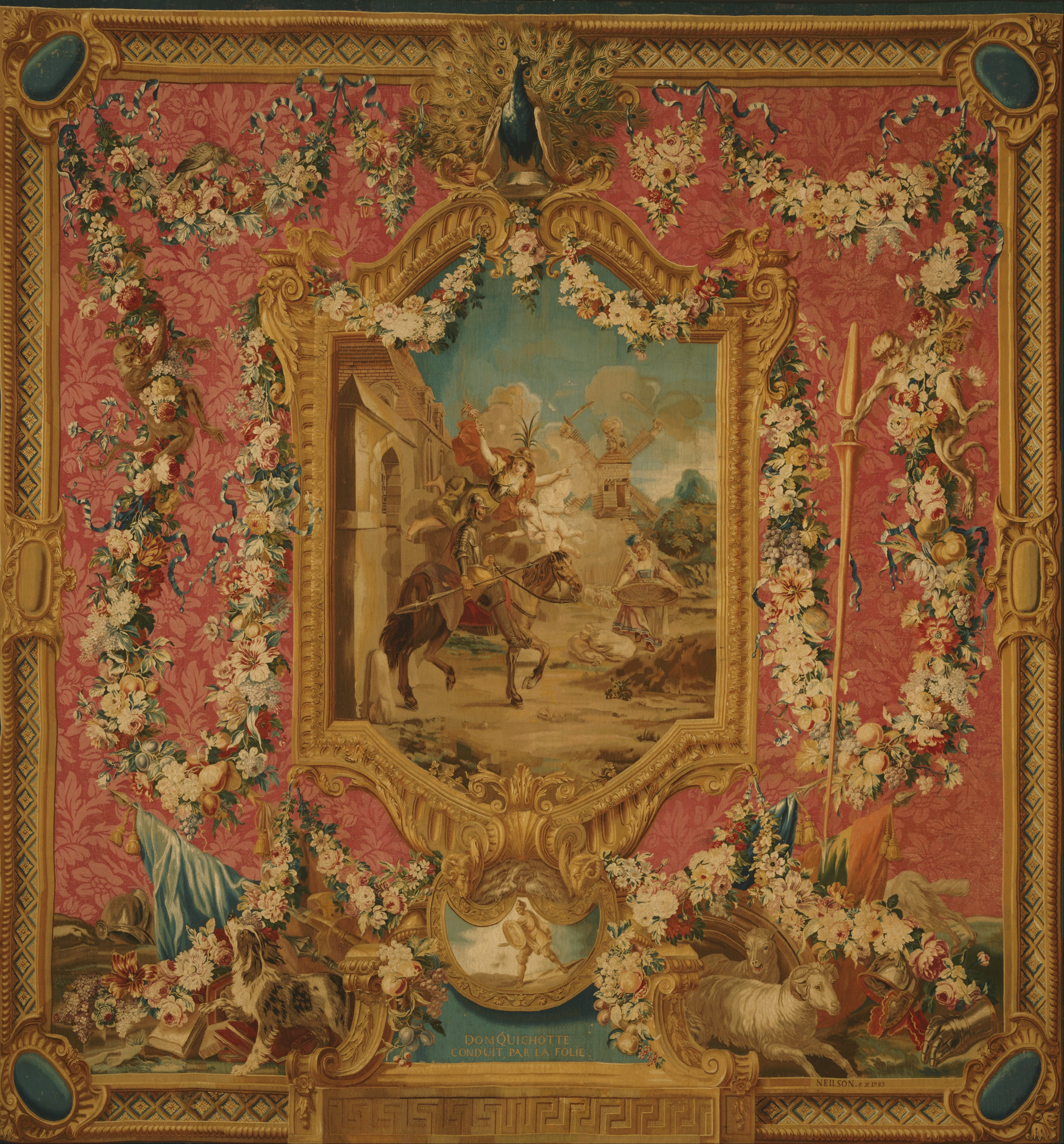 File Woven At The Gobelins Tapestry Manufactory Paris