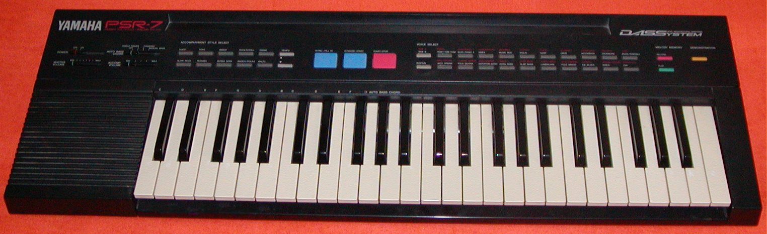 Yamaha Keyboard E  Sequencer