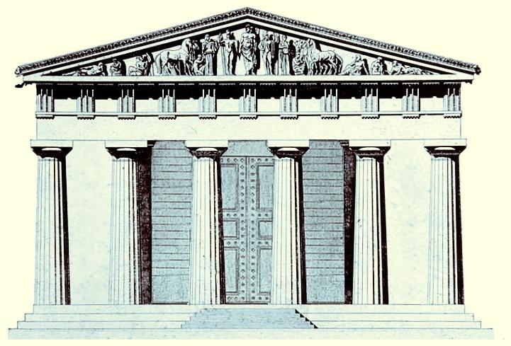 File Zeustempel Olympia Jpg Wikimedia Commons