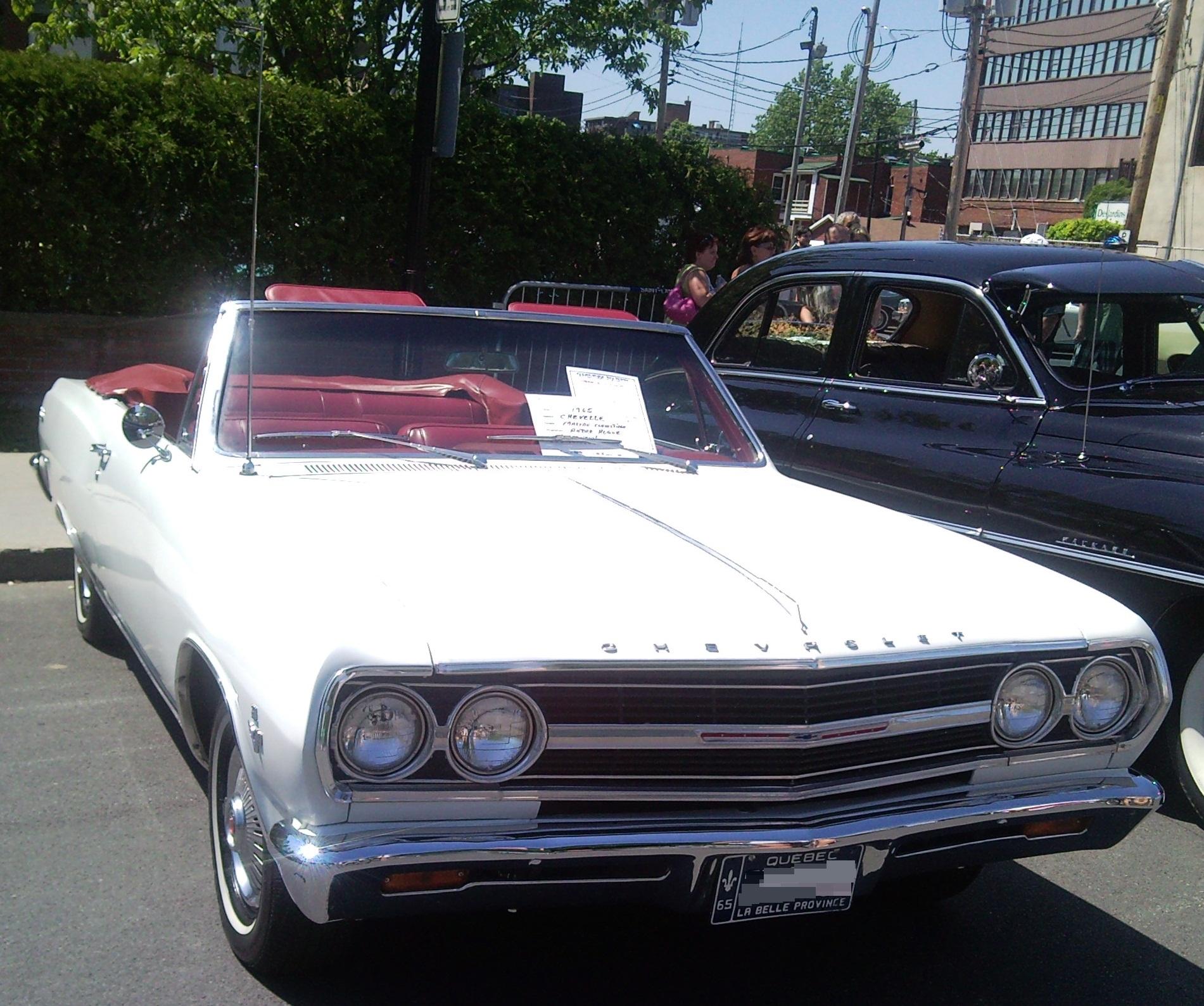 Chevrolet Chevelle Wiki Automobil Bildideen 1966 Malibu Ss File65 Convertible Auto Classique Vaq St