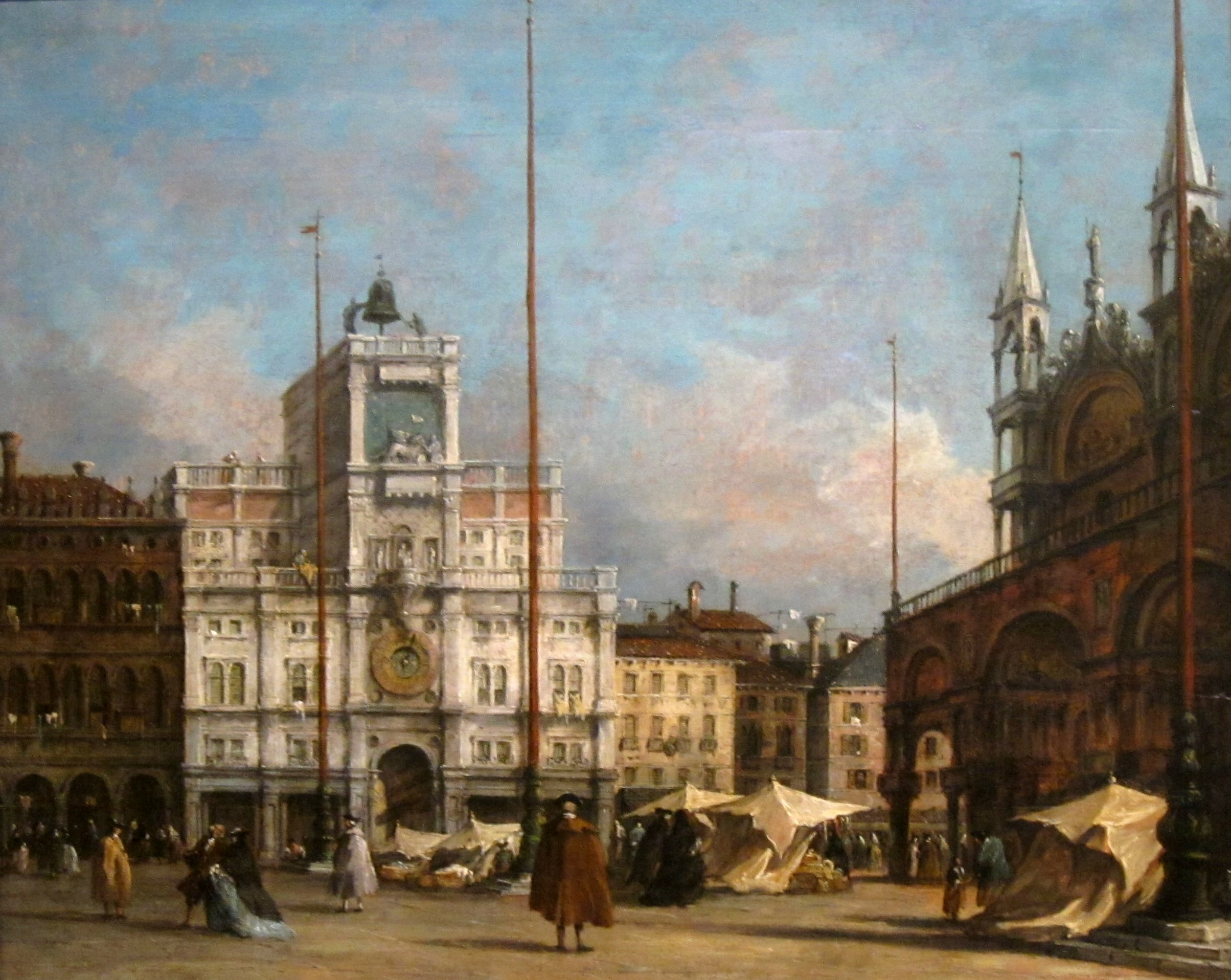 File The Clock Tower Venice By Francesco Guardi Dayton
