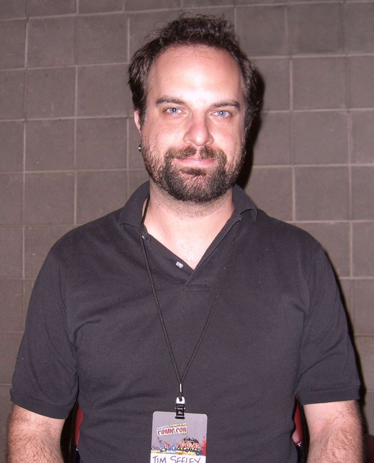 Seeley at the [[New York Comic Con]] in Manhattan, October 9, 2010.