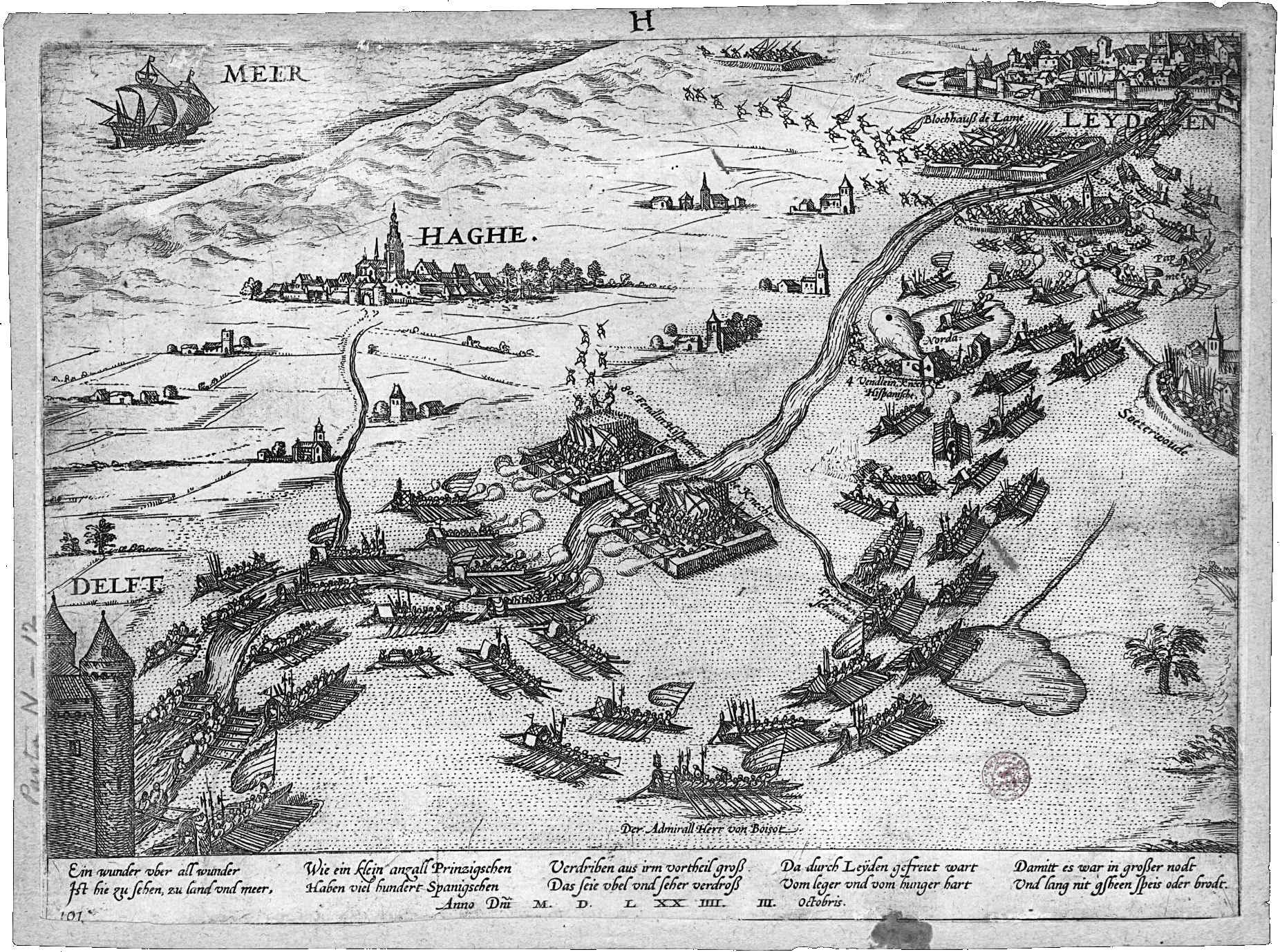 File:1574-10-03; Haghe, Leyden, Delft (Siege of