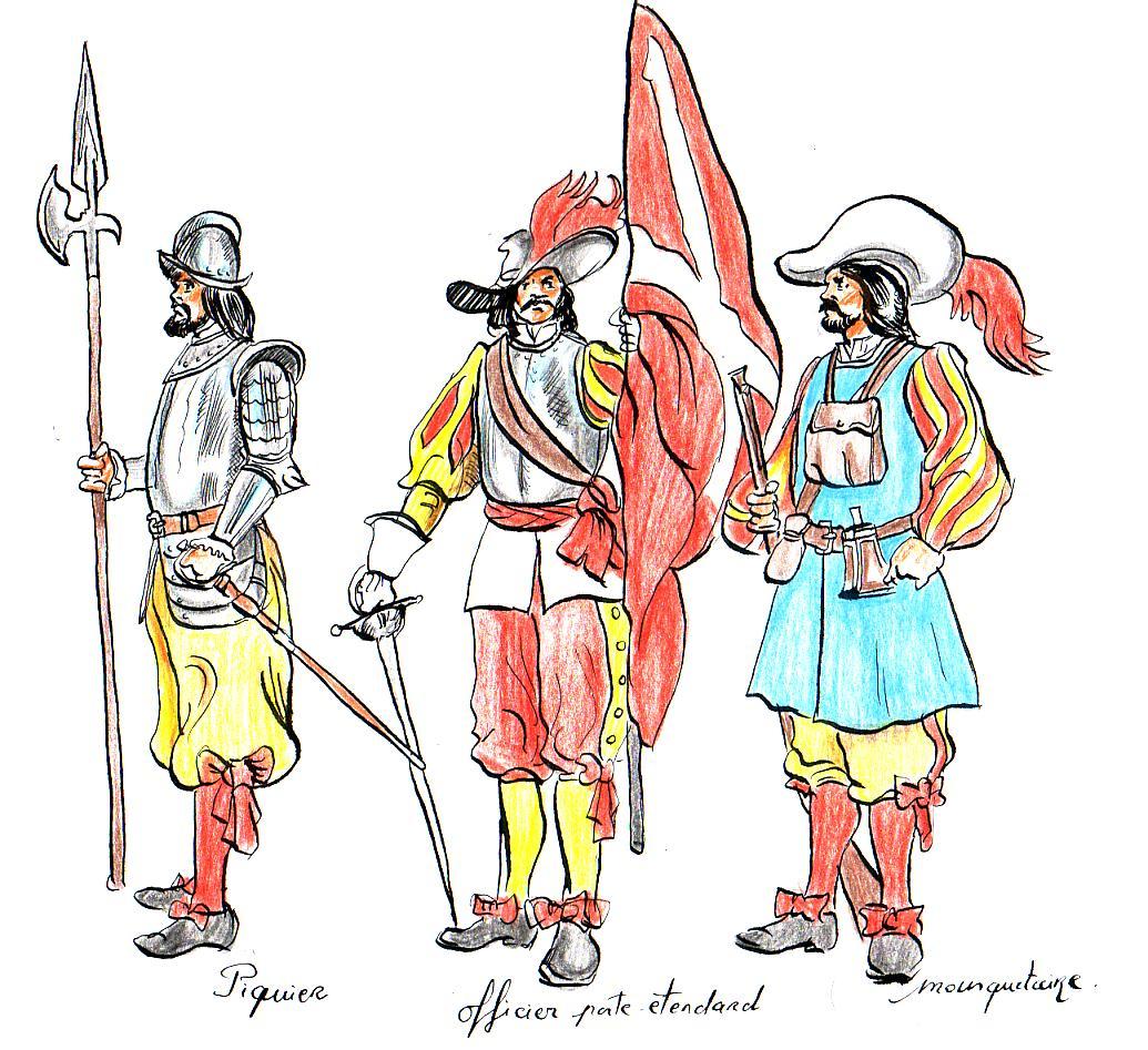 Soldados del ejército de Flandes