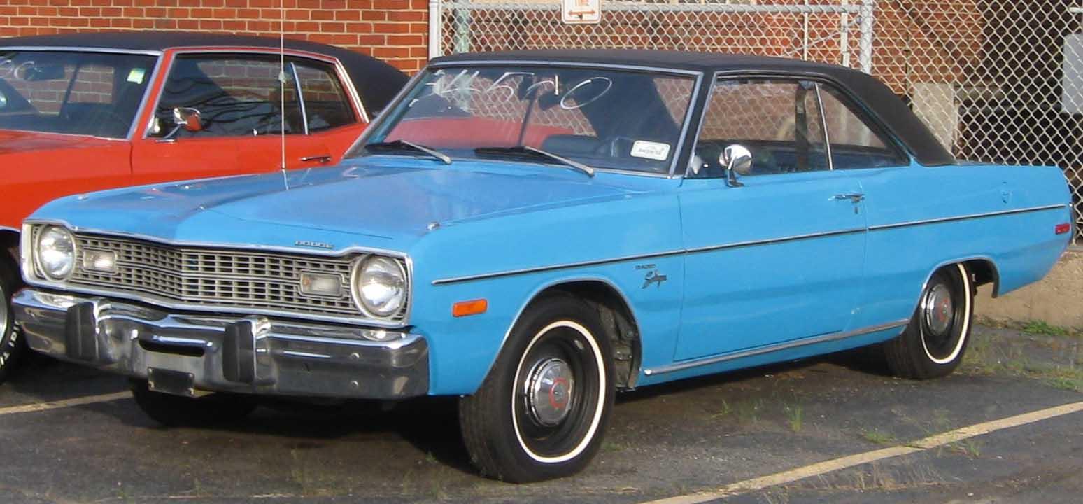 1973 Dodge Dart Swinger Design