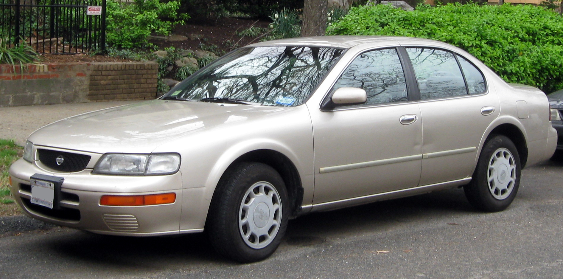 Nissan restored the 1996 Maxima that they bought after the ...