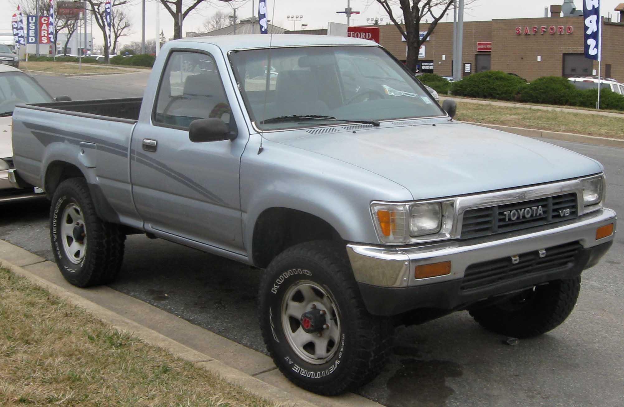 File:1st Toyota Tacoma.jpg - Wikimedia Commons