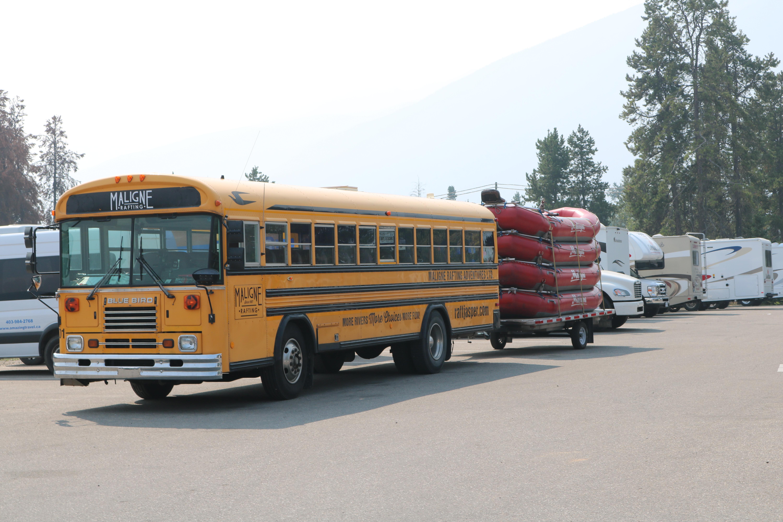 File:2018-08-19 Former Blue Bird TC2000 school bus at Jasper