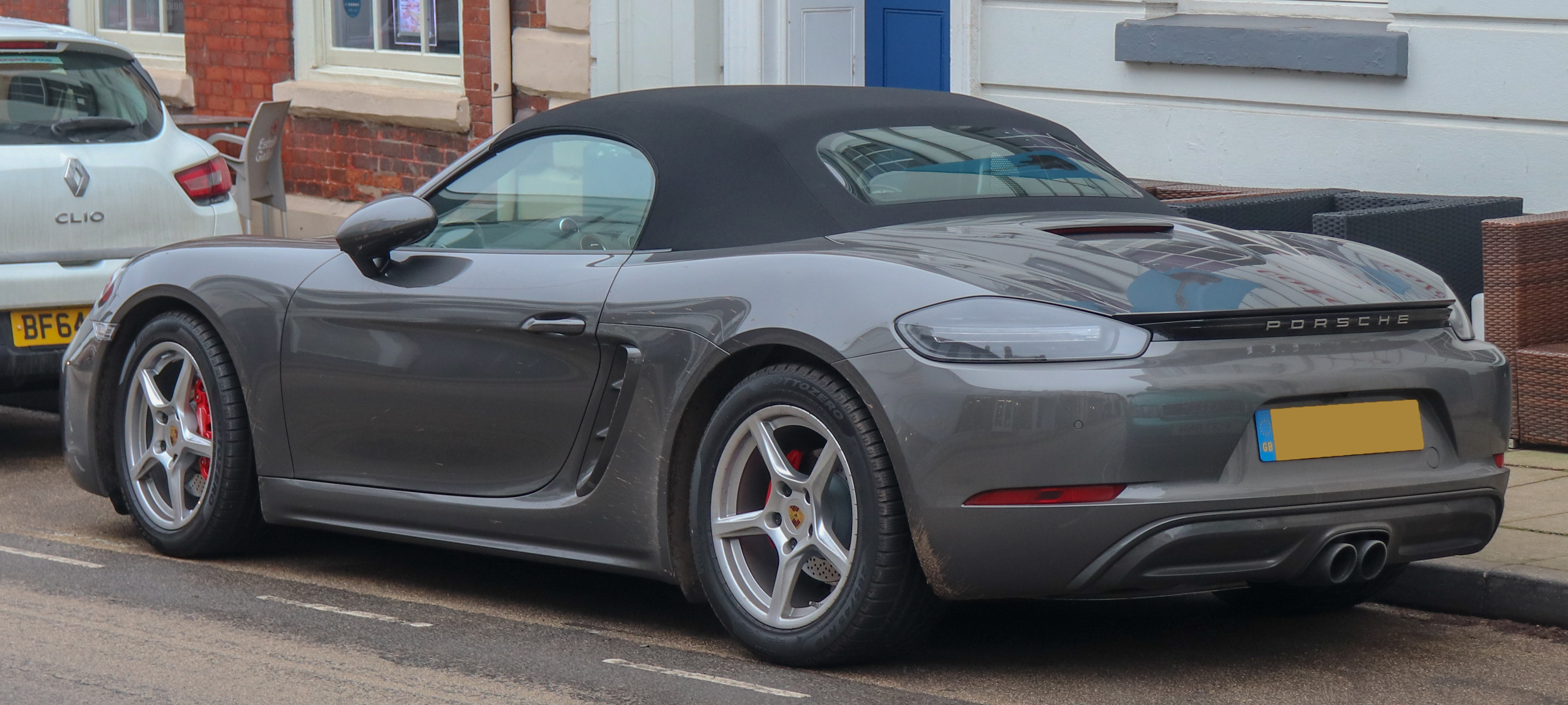 File 2018 Porsche 718 Boxster S S A 2 5 Rear Jpg Wikimedia Commons