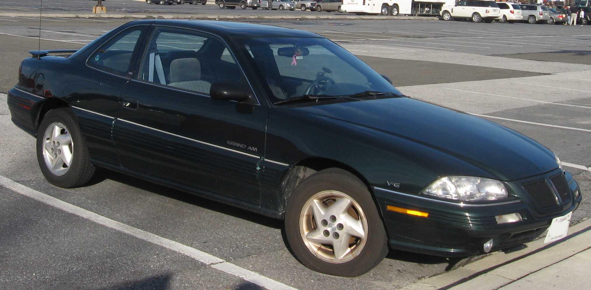 File92 95 Pontiac Grand Am Coupe