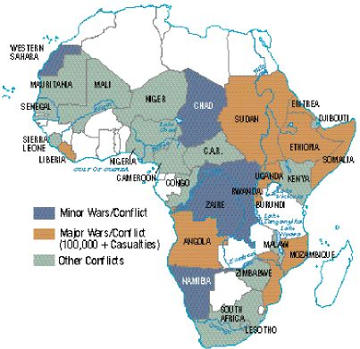 Africa's wars and conflicts, 1980-96 Africa's wars and conflicts, 1980-96.jpg
